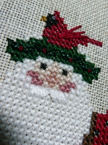 Feathered Friends Santa