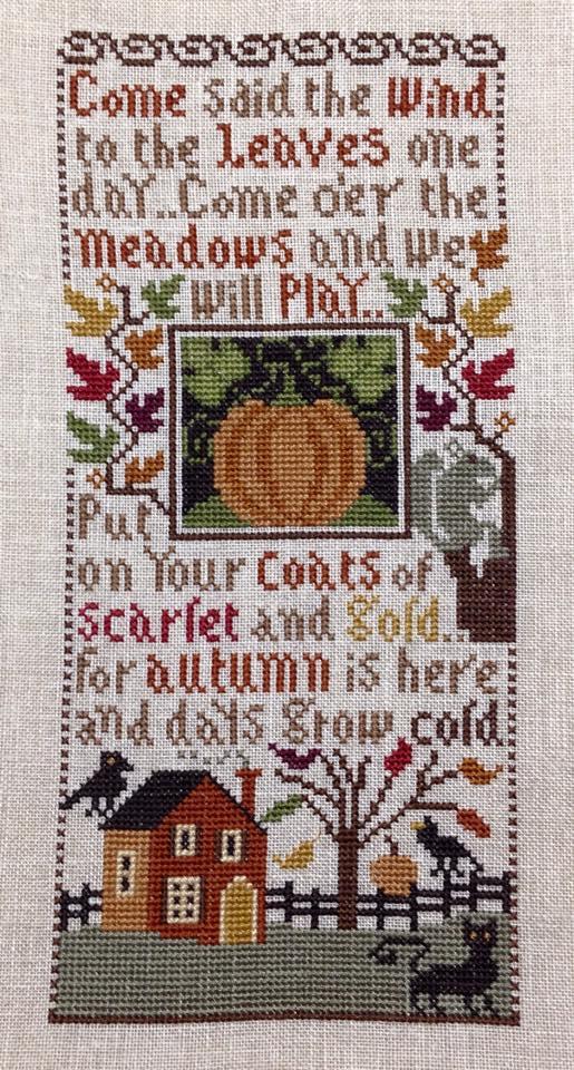 Autumn Leaves by The Prairie Schooler