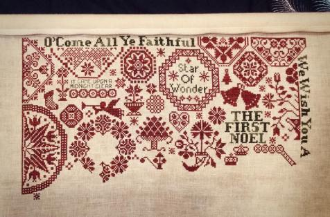 Quaker Christmas II - Songs of the Season by ByGone Stitches