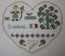 Victoria Sampler - Ireland (International Hearts)