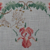 Le Jardin Silk Sampler by Just Cross Stitch