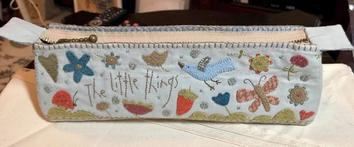 The Little Things Pencil Case by Hatched and Patched
